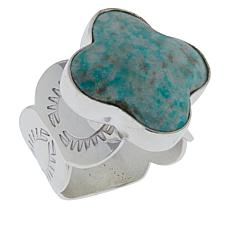 Jay King Sterling Silver No. 7 Yellow Turquoise Ring