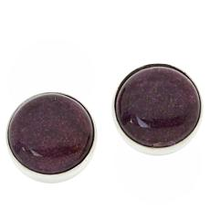 Jay King Sterling Silver Purple Stitchtite Stud Earrings