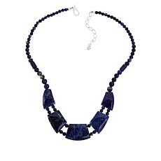 Jay King Sterling Silver Sodalite Necklace