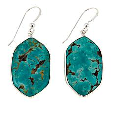 Jay King Tyrone Turquoise Sterling Silver Drop Earrings