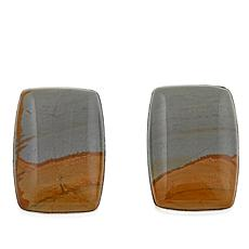 Jay King Wild Horse Jasper Stud Earrings