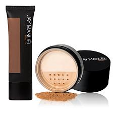Jay Manuel Beauty® Skin Perfector  and  Loose Powder - Deep 4