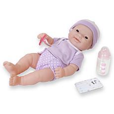 "JC Toys La Newborn Nursery 12"" Asian Baby Doll Gift Set"