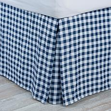 Jeffrey Banks Gingham Bedskirt