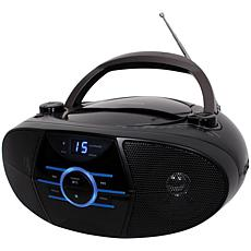 Jensen CD-560 Portable Stereo CD Player with AM/FM Radio & Bluetooth
