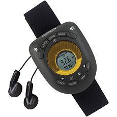 Jensen SAB-55B Digital AM/FM Stereo Armband Clock Radio