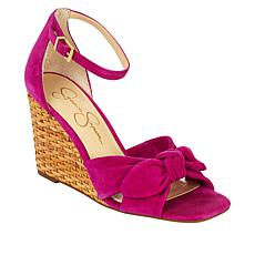 Jessica Simpson Deirah Basketweave Wedge Sandal