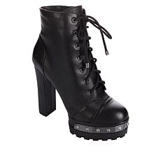 Jessica Simpson Irella Lace-Up Platform Bootie