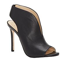 Jessica Simpson Javrey Leather or Suede Peep-Toe Shootie