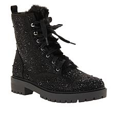 Jessica Simpson Kalirah Lace-Up Embellished Hiker Boot