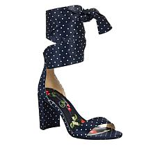 Jessica Simpson Narella Printed Fabric Dress Sandal