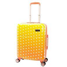 Jessica Simpson Pearla 20-inch Hardside Luggage - Tangerine
