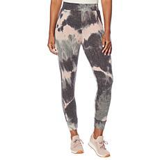 Jessica Simpson Riya Tie-Dye Printed Knit Jogger Pant