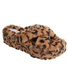 Jesssica Simpson Talulla Faux Fur Platform Slide