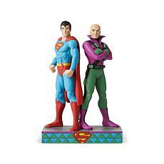 Jim Shore DC Comics - Superman and Lex Luthor