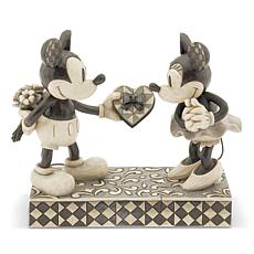Jim Shore Disney Traditions - Black and White Mickey