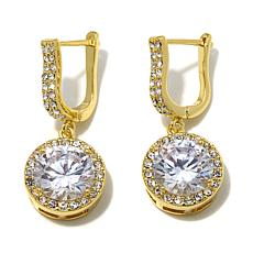 "Joan Boyce ""Indulge Yourself"" CZ and Crystal Earrings"