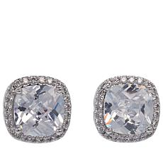 "Joan Boyce Janet's ""The Perfect Finish"" Cushion Stud Earrings"