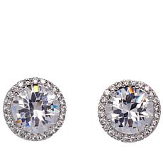 "Joan Boyce Janet's ""The Perfect Finish"" Round Stud Earrings"