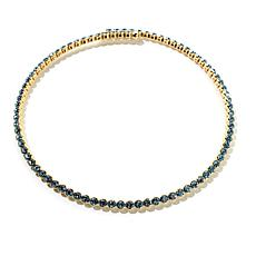 """Joan Boyce """"One Shine Fits All"""" Crystal Coil Necklace"""