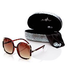 Joan Boyce Oversized Square Frame Sunglasses