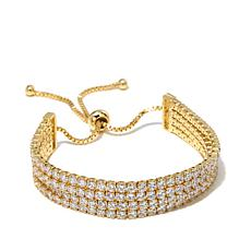 "Joan Boyce ""Pull My Chain"" Adjustable Pavé Bracelet"