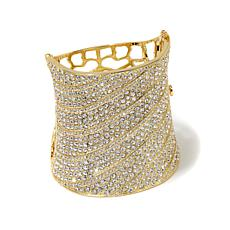 "Joan Boyce ""Ritz and Glitz"" Striped Pavé Bracelet"