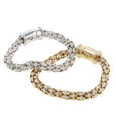 "Joan Boyce ""Simply Stated""  Set of 2  Bracelets"