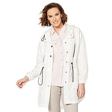 Jones NY Crinkle Anorak Jacket - Missy