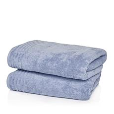 JOY 2-piece Jumbo Supreme Stretch™ Bleach/Cosmetic-Resistant Towels
