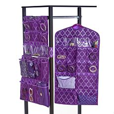 JOY 3pc Ultimate Organizer Set Jewelry, Shoes, Lingerie & More -Chrome