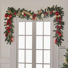 clearance joy forever fragrant pre lit scented 9 garland