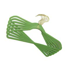 JOY Huggable Hangers® 12pk Suit Hangers with Mini Hooks - Brass