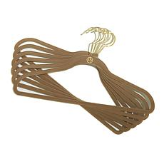 JOY Huggable Hangers® 60-pack Suit Hangers - Brass