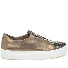 J/Slides NYC Adaze Sequin Slip-On Sneaker