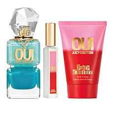 Juicy Couture 3-piece Oui Splash Set