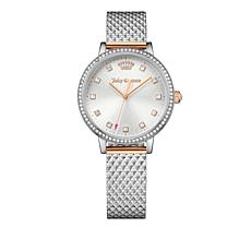 Juicy Couture Socialite 2-tone Stainless Steel Watch