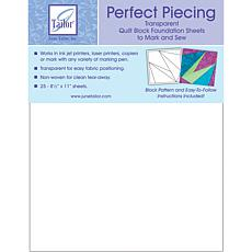 June Tailor Perfect Piecing Quilt Block Sheets