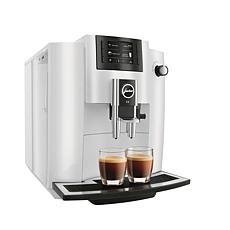 Jura E6 Piano White Automatic Coffee Machine