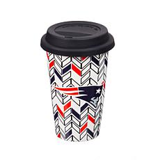 Just Add Color, Travel Cup, Chevron - New England Patriots