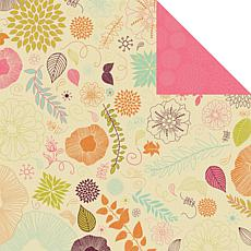Kaisercraft Hippy Girl Double-Sided Paper - Earth