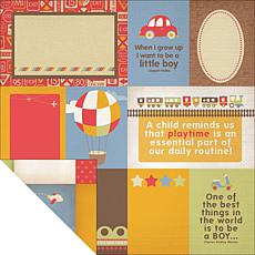 Kaisercraft Toot Collection Double-Sided Paper - Bumper