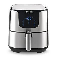 Kalorik 5.3 Quart Air Fryer Pro XL - Stainless Steel