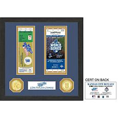 Kansas City Royals 2-Time World Series Ticket Collection