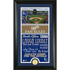 Kansas City Royals Fan Rules Supreme Bronze Coin Photo Mint