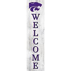 "Kansas State University 48"" Welcome Leaner"