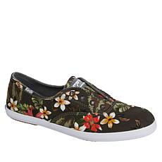 Keds Chillax Tropical Multicolor Cotton Slip-On Sneaker