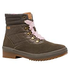 Keds Suede and Quilted Nylon Camp Boot