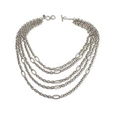 "Kelly Killoren ""Demsey""  Mixed-Chain Layered Necklace"