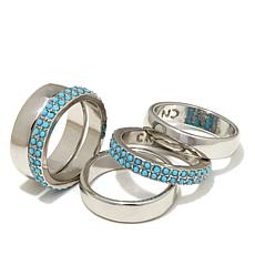 "Kelly Killoren ""Lotta"" Set of 5 Stacking Rings"